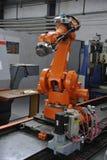 机器人的胳膊 免版税库存照片