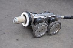 机器人的设备 免版税库存照片