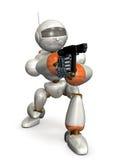 机器人目标 免版税库存图片