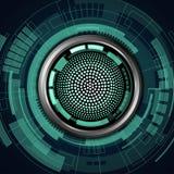 机器人眼睛 免版税库存照片
