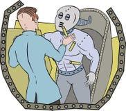机器人科学家 向量例证