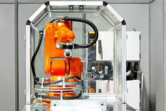 机器人系统 免版税库存照片