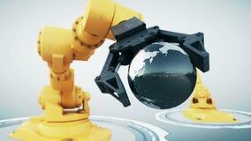 机器人胳膊 向量例证