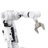机器人胳膊 免版税库存照片