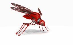机器人蚊子 免版税库存图片