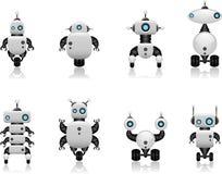 机器人集 免版税库存照片