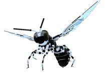 机器人黄蜂 库存例证