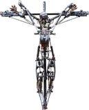 机器人,十字架 图库摄影