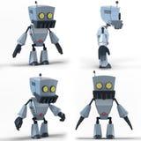 机器人LowPoly 库存图片