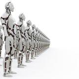 机器人rank2 s 库存照片