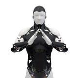 机器人v01 库存照片