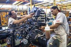 机器厂 库存照片