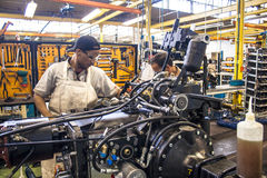 机器厂 免版税库存照片