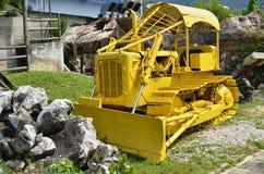 机器在Kinta罐子采矿博物馆在Kampar,马来西亚 免版税库存图片