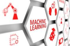 机器学习概念 库存照片