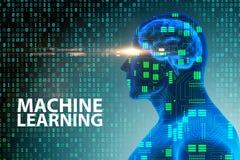 机器学习概念- 3d翻译 库存例证