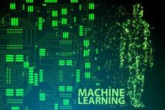 机器学习概念- 3d翻译 向量例证