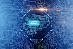 机器学习概念- 3d翻译 皇族释放例证