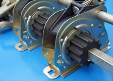 机器的金属零件 免版税库存照片
