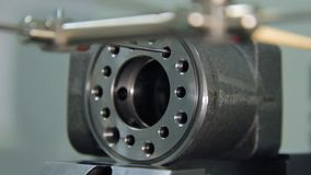 机器零件制造器材 机械工具制造 股票视频