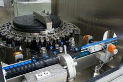 机器零件工厂洗涤物 免版税库存照片