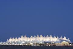 机场丹佛国际 免版税库存照片