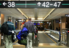 机场人 库存照片