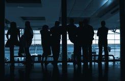 机场人 免版税库存图片