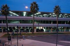 机场停车处 免版税库存图片