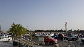 机场停车处 免版税库存照片