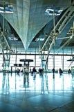 机场入口 免版税库存照片