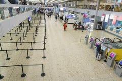 机场内部在日内瓦 库存图片