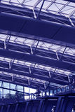机场内部 免版税图库摄影
