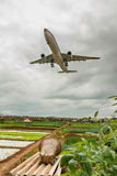 机场前时候wujiaba 库存图片