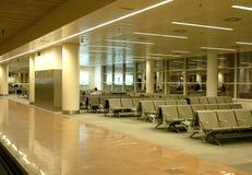 机场区等待 免版税图库摄影