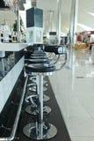 机场咖啡馆 库存图片