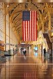 机场国家里根・罗纳德・华盛顿 免版税库存图片