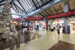 机场国际收割siem 图库摄影