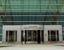 机场国际波特兰 免版税库存图片