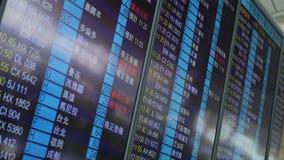 机场国际董事会的启运 股票视频