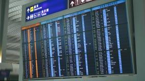 机场国际董事会的启运 股票录像