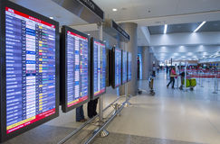 机场国际迈阿密 库存照片