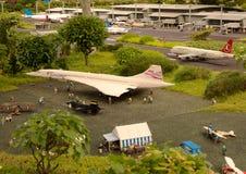 机场在乐高中 免版税图库摄影