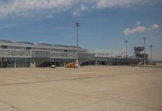 机场在布拉索夫 免版税库存照片