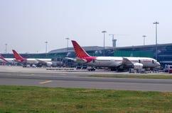机场在德里 库存照片