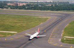 机场在德里 免版税图库摄影