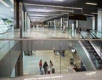 机场在Balice,克拉科夫,波兰 免版税库存照片