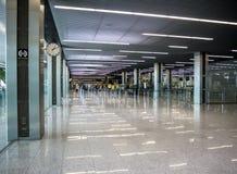 机场在Balice,克拉科夫,波兰 免版税图库摄影