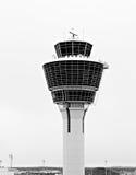 机场塔 库存照片