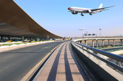 机场大厦 免版税图库摄影